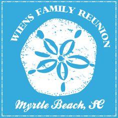 Geneologie   Tee Shirts   Custom Apparel Design   Custom Apparel   Hand Drawn   Custom Product Design   Shirt Designs   Shirt Ideas   Family Reunion   Beach   Sand Dollar   Family Holiday   Vacation