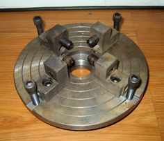 Say It With Faceplates Metal Lathe Tools, Metal Bending Tools, Wood Lathe, Metal Working Machines, Metal Working Tools, Homemade Tools, Diy Tools, Diy Projects Engineering, Metal Processing