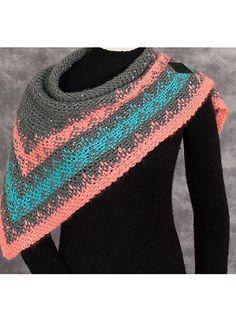 Crochet - Navajo Nights Shawl - #REC1483 PATTERN FOR SALE