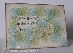 Love for Stamping: Thank you!