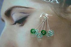 204 Skleněné kroužky Earrings, Jewelry, Ear Rings, Stud Earrings, Jewlery, Jewerly, Ear Piercings, Schmuck, Jewels