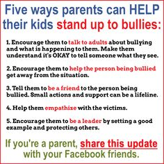 There are many factors children bully others. They can have strained home lives, not be obtaining adequate focus in your home, or have various other family issues. What Is Bullying, Stop Bullying, Anti Bullying, Coping Skills, Social Skills, Life Skills, Bullying Lessons, Low Self Confidence, Bullying Prevention