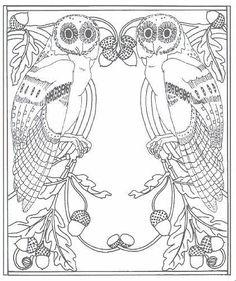 Pattern Maker » Blog Archive » FREE ART NOUVEAU PATTERNS