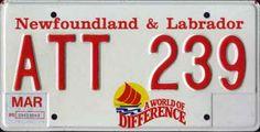 Newfoundland - World of Difference series Newfoundland Canada, Newfoundland And Labrador, Licence Plates, Pics Art, The Rock, Humor, Bonheur, License Plates, Humour