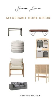 Explore the best Home Essentials For Every Room & Decor Style. All these items are quality made, affordable and budget friendly. Head to our website for more home deals and choices!#homeaccessories #homedecordeals #homielovindecor #homeideas Diy Furniture Flip, Affordable Home Decor, Diy Home Improvement, Home Organization, Diy Room Decor, Home Projects, Decorating Your Home, Decor Styles, Home Accessories