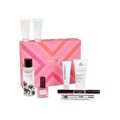 BIRCHBOX Limited Edition Selfridges Birchbox (3130 RSD) ❤ liked on Polyvore featuring beauty products