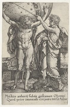 Hercules and Atlas, from The Labors of Hercules (1550)