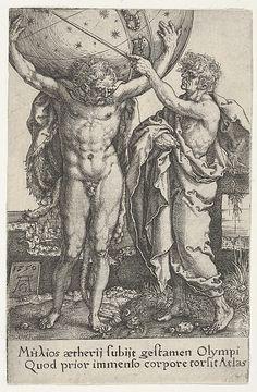 Hercules and Atlas, from The Labors of Hercules (1550)