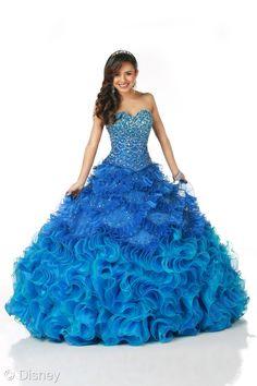 Ruffles blue dress #Disney