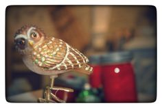 Who-who-who's looking for a sweet golden glass owl?