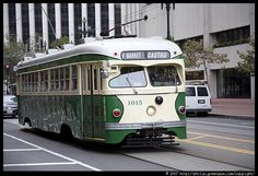 Photograph by Philip Greenspun: san-francisco-muni-trolley