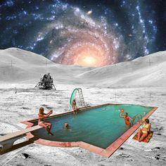 "Saatchi Online Artist: Steven Quinn; Digital 2013 Collage ""qqqq"""