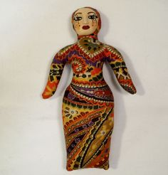 6 1/4 in. Saucy Cloth Art Doll Form w/ face cab You by arziehodge