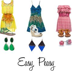 """""""Easy Summer"""" by danicashea on Polyvore"""