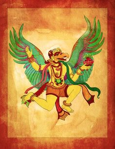 Kids Yoga Mythology – How Garuda Brought the Nectar of Heaven to Earth