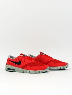 Nike SB Eric Koston 2 Max Lite Crimson/Gry - Rollin