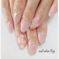 ネイルデザインを探すならネイル数No.1のネイルブック Asian Nail Art, Asian Nails, Korean Nail Art, Cute Nail Art, Cute Nails, Pretty Nails, Lilac Nails Design, Matted Nails, Coffin Nails Ombre