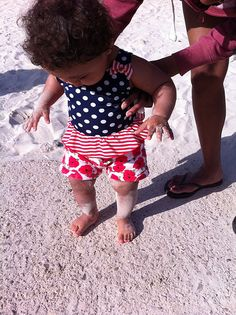 What is this stuff you have me walking on?? It's in my toes and allsorts! :-D  Do you remember your first #holiday and time on a #beach? Entry from Simon