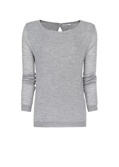MANGO - Metallic effect jumper