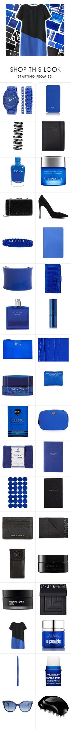 """""""Box Clutch"""" by xgracieeee ❤ liked on Polyvore featuring Anne Klein, Tumi, Nava, Omorovicza, Michael Kors, Gianvito Rossi, Marc by Marc Jacobs, Nuuna, UNEARTHED and Lipstick Queen"""