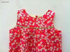 sisko by mieke: Een zomers babykleedje mét gratis patroon