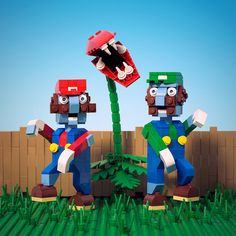 Plants vs Plumbers  Everybody run, its zombie Mario!
