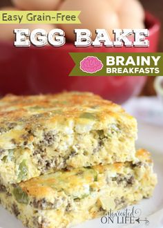 1000+ images about Brainy Breakfasts Recipes on Pinterest | Three ...