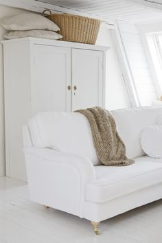 Great Sofa and Armoire