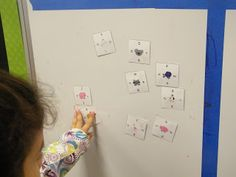 How to Use Magic Square Puzzles as a Magnet Center! {with FREEBIES!}