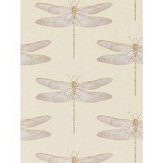 BuyHarlequin Demoiselle Wallpaper, Shell, 111239 Online at johnlewis.com