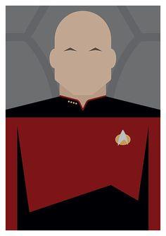Minimal Star Trek: The Next Generation Character Postcards - Set of 8 Star Trek Wallpaper, Iphone Wallpaper, Deep Space 9, The Final Frontier, Star Trek Universe, Film Studio, Music Labels, Cool Posters, The Next