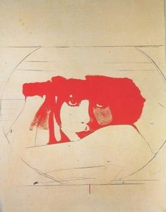 Giosetta Fioroni, Liberty, 1965