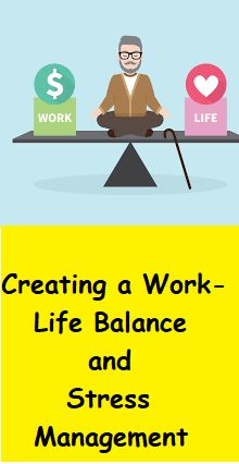 Creating a Work-Life Balance and Stress Management Work-life balance is adjusting your day-to-day activities to achieve a sense of balance. Some benefits of a healthy work-life balance include:  reduced stress levels, at work and at home  greater focus and concentration  higher levels of job satisfaction  the opportunity to participate more fully in family and social life  more time to pursue personal goals and hobbies  improved health How to Maintain good work-life balance?