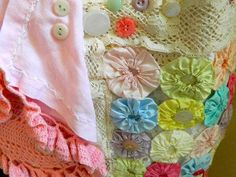 Scarf Womans Lace Collage Romantic Spring Collection on Etsy, $78.00