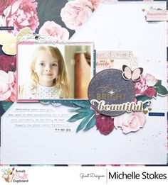 Shine Bright Beautiful - Pink Paislee Moonstruck collection