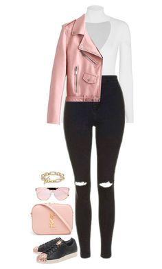"""It Was A Good Day"" by hernamewaslily ❤ liked on Polyvore featuring adidas Originals, Cushnie Et Ochs, Karen Walker, Topshop, Yves Saint Laurent and David Yurman"