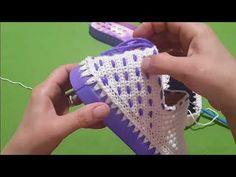 Emelce Kabarcıklı Örgü Patik Ayakkabı Modeli - YouTube