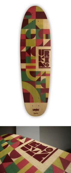 Urkin Skateboards by Jorge Lawerta, via Behance
