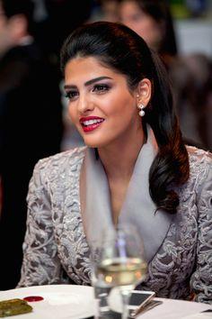 Princess Amira Al Taweel beautiful #makeup at The official launch of Buro 24/7 in Azerbaijan