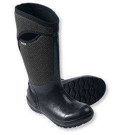 Bogs Tall Boots, Herringbone: Winter Boots