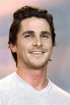 Christian Bale is handsome when he doesn't look like a hobo and talk like a bat