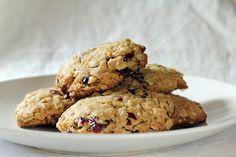Deliziosi biscotti vegan ai mirtilli rossi e pistacchi.
