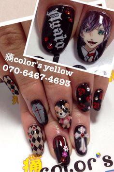 DIABOLIK LOVERS Character nail art