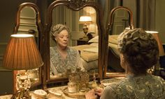 Maggie Smith (Violet Crawley) in Downton Abbey series 6 promo