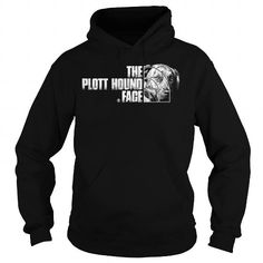 Awesome Plott Dogs Lovers Tee Shirts Gift for you or your family your friend: The Plott Hound Face Tee Shirts T-Shirts