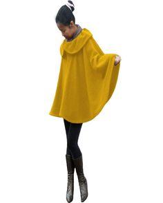 Daffodil Cape Coat