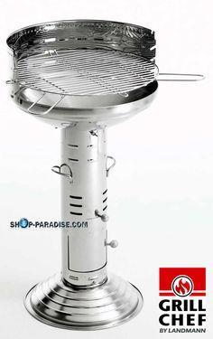 SHOP-PARADISE.COM:  Edelstahl Säulengrill Grill Maximo 99,99 €