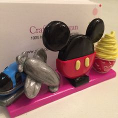 Pin by on fimo accessories pinterest fimo polymer clay disney theme business card holder by craftsbymorgan colourmoves