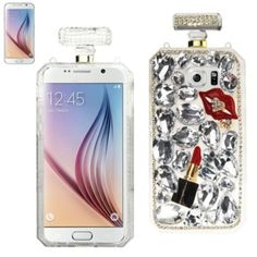 Reiko 3D DIAMOND PROTECTOR COVER FOR SAMSUNG GALAXY S6 BOTTLE GOLD