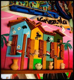 Venta de artesanía en los malecones de Chichiriviche y Tucacas Edo Falcón Venezuela